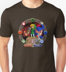 Camiseta ajustada Zelda Oracles