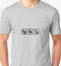Rock, paper, scissor Unisex T-Shirt