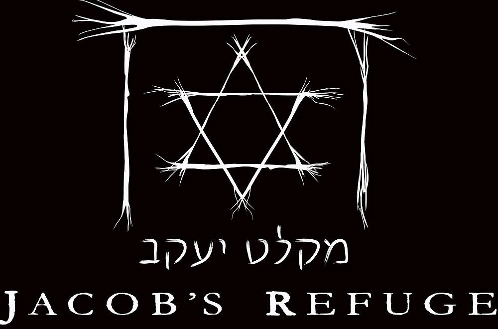 Jacob's Refuge White Logo by JacobsRefuge