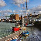 Wells next sea harbour portrait by Mark Bunning