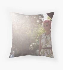Angel of Light Photograph Throw Pillow