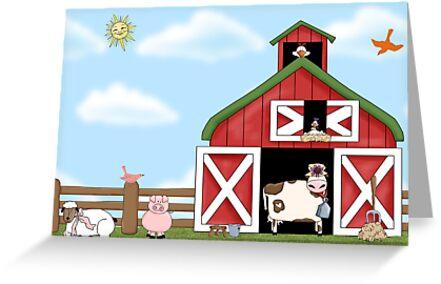 Barnyard Animals by LABELSTONE