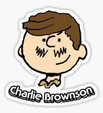 Charlie Brownson Sticker