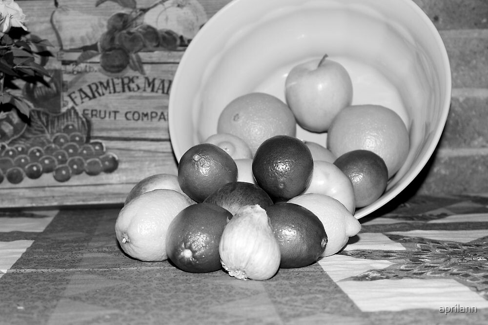 Still Life in Black and White by aprilann