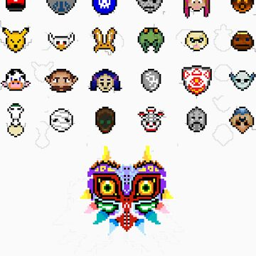 Majora's Masks by TeamJawline