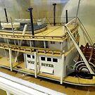 Paddle Wheeler Model by WildestArt
