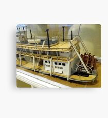 Paddle Wheeler Model Canvas Print