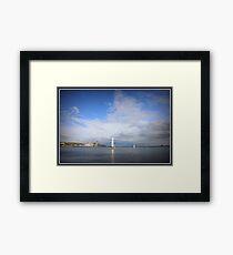 Beacon Cove - Port Melbourne Framed Print