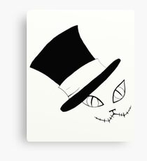 Cheshire Cat in the Hat Canvas Print