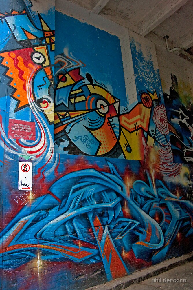 Melbourne Alley by phil decocco