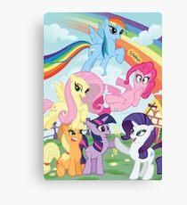 My Little Pony Print Canvas Print