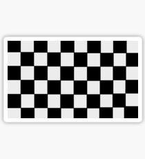 Checkerboard Sticker