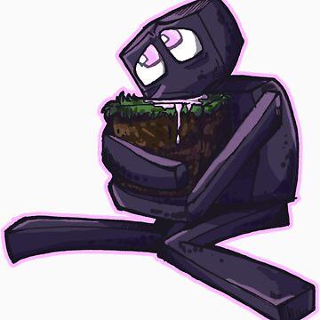 Blocky Alien Man by tsebresos