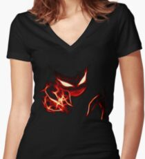 Haunter Women's Fitted V-Neck T-Shirt