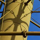 Shadows on a Light Tower by MaryinMaine