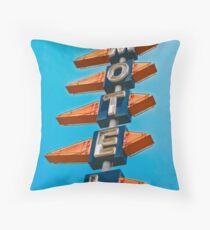 Motel Throw Pillow