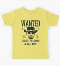 Django Wanted Kids Tee