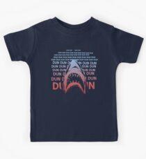 Jaws Theme Swimming Kids Tee