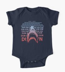 Jaws Theme Swimming One Piece - Short Sleeve