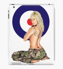 II Squadron RAF Regiment Pinup iPad Case/Skin