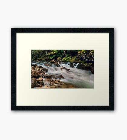 Natural Smoother Framed Print