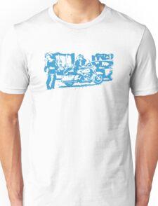 Biker in the Alley VRS2 T-Shirt