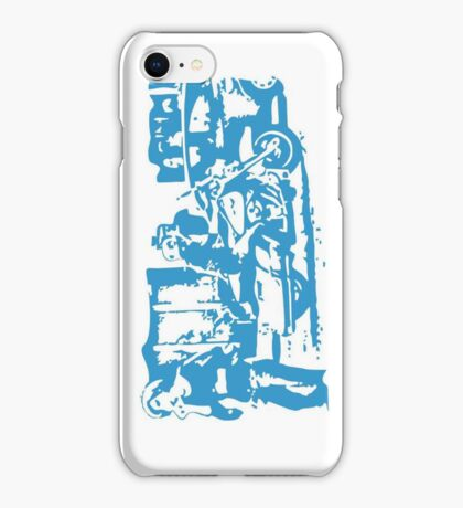 Biker in the Alley VRS2 iPhone Case/Skin