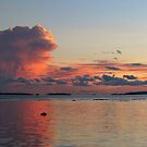 Sunset at Vavanga by Reef Ecoimages