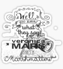 Veronica Mars- Marshmellow Sticker