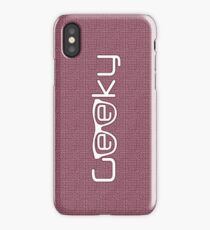 Geeky girl iPhone Case
