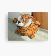 Tiger DoorStop Canvas Print