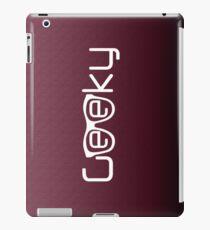 Geeky G iPad Case/Skin
