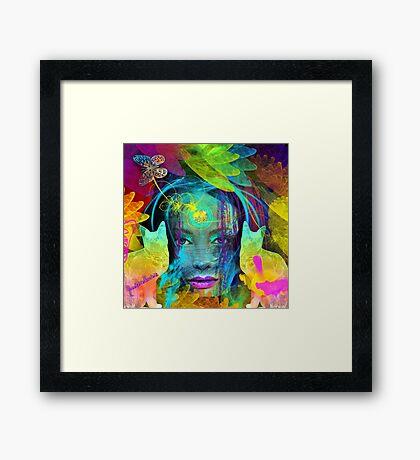 Inner freedom Framed Print