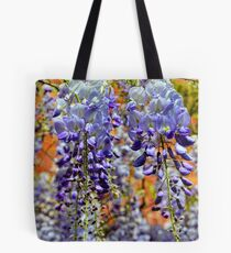 Wisteria Fronds Tote Bag