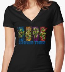 Shred This! Women's Fitted V-Neck T-Shirt