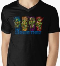 Shred This! Mens V-Neck T-Shirt