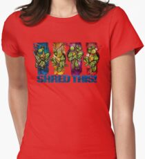 Shred This! Womens Fitted T-Shirt