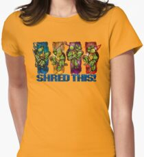 Shred This! Women's Fitted T-Shirt