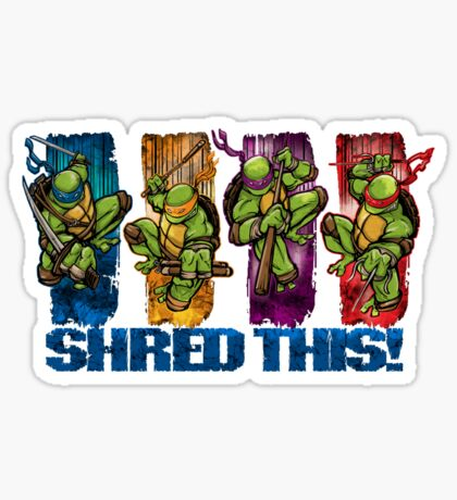 Shred This! Sticker