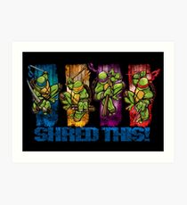 Shred This! Art Print