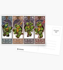 Ninja Masters Postcards