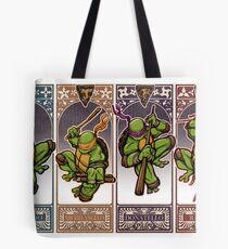 Ninja Masters Tote Bag