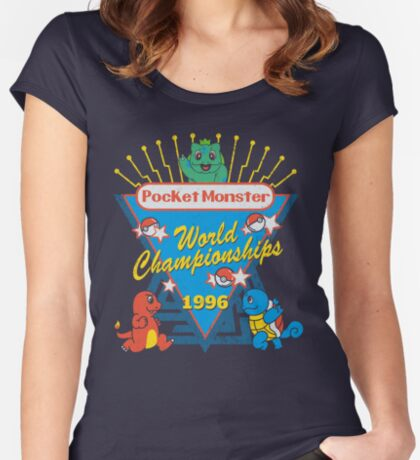 World Championship Women's Fitted Scoop T-Shirt