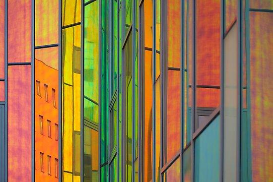 Rainbow window by Javimage