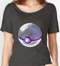Galaxy Pokeball. Women's Relaxed Fit T-Shirt