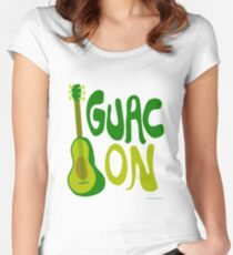 Guac on! Women's Fitted Scoop T-Shirt