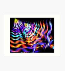 Retrograde Pinacles Art Print