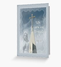 Congratulations on Becoming Nun Greeting Card Greeting Card