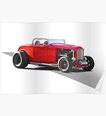 1932 Ford 'Little Red' Roadster Poster