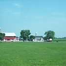 Amish Farm by wickedmommicked